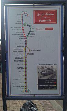Trams In Alexandria Wikipedia