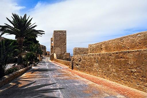 Alicante Castle SantaBarbara Inside 02a