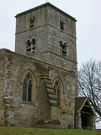 Appleton-le-Street - Appleton-le-Street's Norman church tower