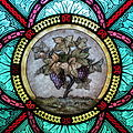 All Saints Catholic Church (St. Peters, Missouri) - stained glass, sacristy, grape vine detail.jpg