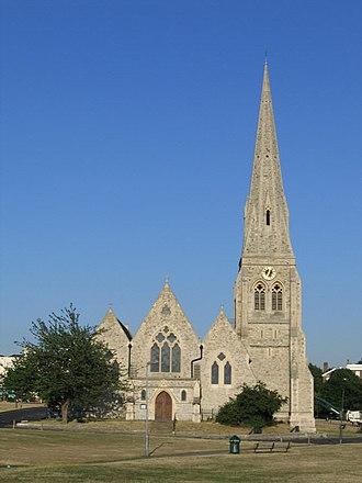 Benjamin Ferrey - All Saints' parish church, Blackheath, built 1857–67