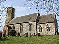 All Saints church in Thorpe Abbotts - geograph.org.uk - 1767792.jpg