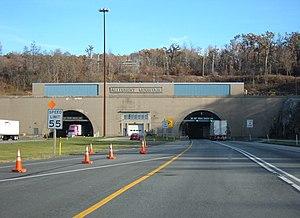 Allegheny Mountain (Pennsylvania) - Allegheny Mountain Tunnel on the Pennsylvania Turnpike
