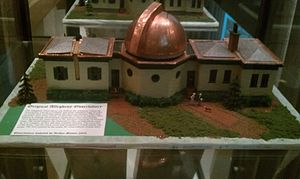 Allegheny Observatory - A model of the original Allegheny Observatory