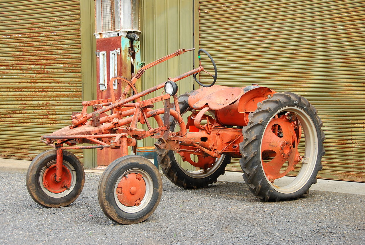 Allis Chalmers G Tractor : File allis chalmer tractor g wikimedia commons