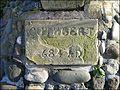 Alnmouth, Northumberland ... CUTHBERT 684 A.D. - Flickr - BazzaDaRambler.jpg