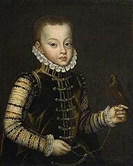 Portrait of Infante Ferdinand of Spain