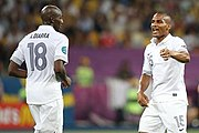 Alou Diarra and Florent Malouda Euro 2012 vs Sweden 01.jpg