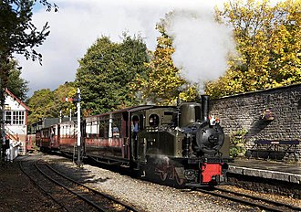 South Tynedale Railway - Image: Alston Station geograph.org.uk 1533588