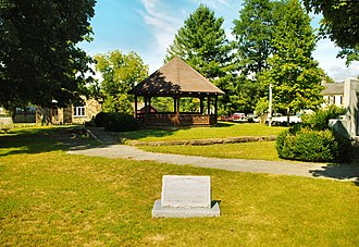 Altamont, Tennessee - Veterans' Park in Altamont