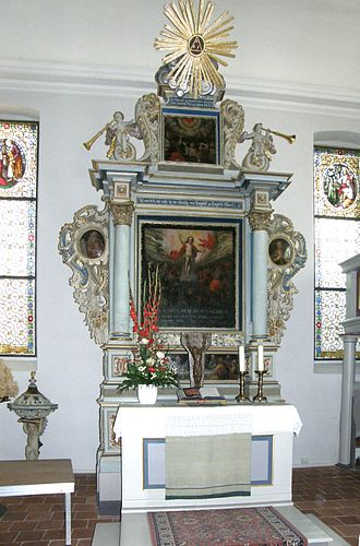 Jesus Church (Berlin-Kaulsdorf) - Altar