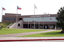 Alvin Community College A Building,Texas.jpg