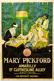 <i>Amarilly of Clothes-Line Alley</i> 1918 film directed by Marshall Neilan