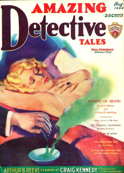 Amazing Detective Tales August 1930