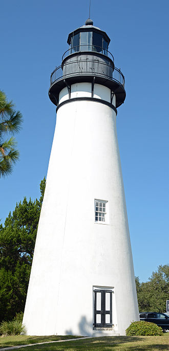 National Register of Historic Places listings in Nassau County, Florida - Image: Amelia Island Lighthouse and building, FL, US (15)
