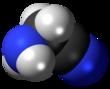 Spacefill model of aminoacetonitrile