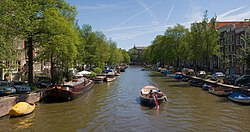 Canals of the Jordaan neighbourhood