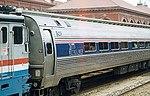 Amtrak Metroliner train at Wilmington, 1990s.jpg