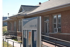 Hazlehurst, Mississippi - Amtrak station at Hazlehurst