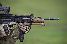 ICS L85A2 British Military Full Size Airsoft AEG Rifle | Evike.com