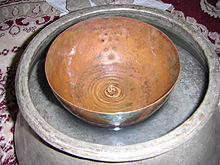 photograph of an Ancient Persian water clock