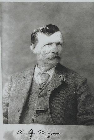 Oceanside, California - Andrew Jackson Myers, Oceanside's founder.