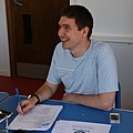 Andrew Turvey, WMUK board meeting, August 2011.jpg