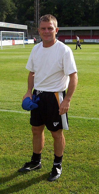 Dover Athletic F.C. - Andy Hessenthaler was appointed manager of Dover in 2007.