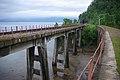 Angasolskaya bridge, Circum-Baikal Railway by trolleway, 2009 (31394909794).jpg