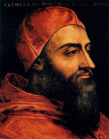 Painting of Pope Clement the 7th