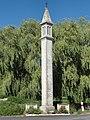 Angerville-la-Martel (Seine-Mar.) lanterne des morts à Ypreville, memorial église disparue.jpg