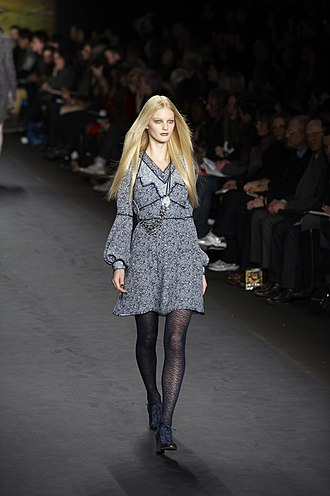 Holland's Next Top Model - Patricia van der Vliet, pictured walking for Anna Sui's fall-winter collection in 2010, has been the show's most successful contestant to date. She was ranked 29th on the international model ranking website models.com.