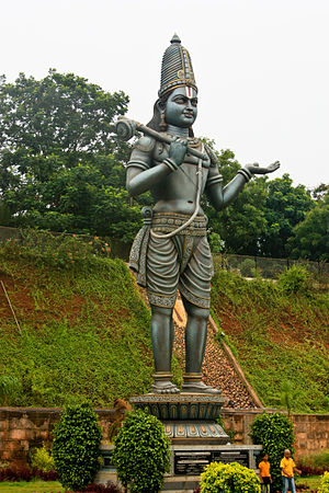 Annamacharya - This statue is at Dwaraka Tirumala