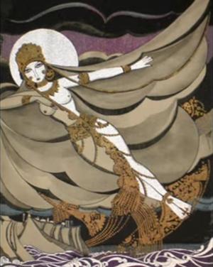 Anne Harriet Fish - An illustration from Rubaiyat of Omar Khayyam