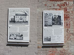 Anson Brown Building - Image: Anson Brown Building Historical Markers