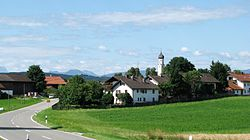 Antdorf seen from the northeast