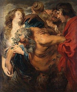 Drunken Silenus (van Dyck) - Image: Anthonis van Dyck 055