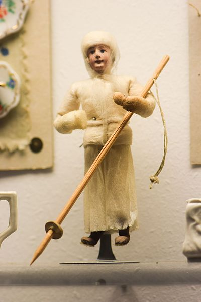 File:Antique doll dressed for winter (25149102634).jpg