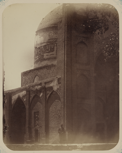 Antiquities of Samarkand. Mosque of Khodzha Abdu-Berun. View of the Mosque from the Northwest WDL3746.png