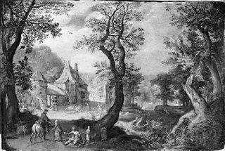 Village on the Fringe of a Wood