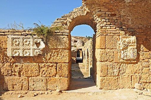 Antonine Baths - Marbled Walls