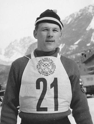 Antti Hyvärinen - Antti Hyvärinen in 1956