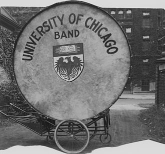 University of Chicago Band - Close up of Big Bertha