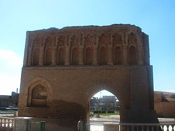 "English: The Abbasid ""Baghdad Gate"" ..."