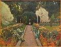 Aranjuez Garden, Arbor, II, by Santiago Rusiñol, 1907, oil on canvas - Museo Nacional Centro de Arte Reina Sofía - Madrid, Spain - DSC08499.JPG
