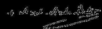 Ambrose Maréchal - Image: Archbishop Ambrose Maréchal signature