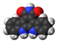 Arcyriaflavin A molecule spacefill.png