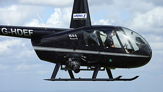 Robinson R44 - An Arena Aviation R44 Raven II with a Cineflex V14 high definition camera system