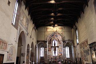 San Francesco, Arezzo - The interior