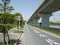 Ariake-engan-road omuta interchange 20120428-1.JPG